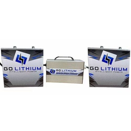 Go Lithium 12v - 2 Battery and 1 Charger Package (GOLPKG4)