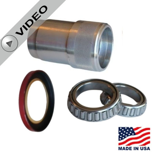 Low Drag Hub Parts Kit - Wide 5 - Includes Aluminum Bearing Spacer, DRP Bearing Kit & Ultra Low Drag Seal #DRP-007 10500K