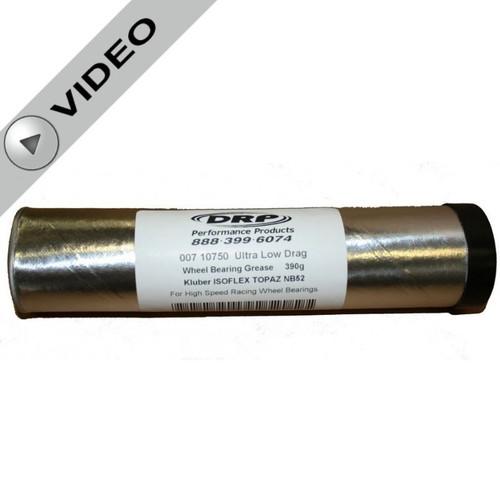 Ultra Low Drag Bearing Grease - 390g Cartridge - Kluber Isofles Topaz NB52 - #DRP-007 10750