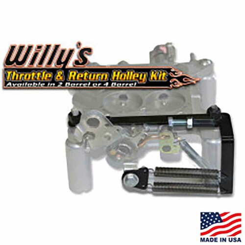 Willy's Throttle & Return Holley Kit