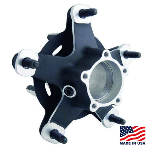Winters 007 Wide 5 Rear Hub Kit - Magnesium with Angular Contact Bearings