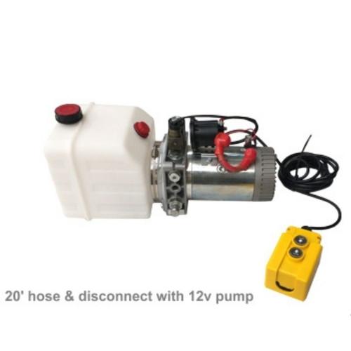 12V Pump with 20' Hose