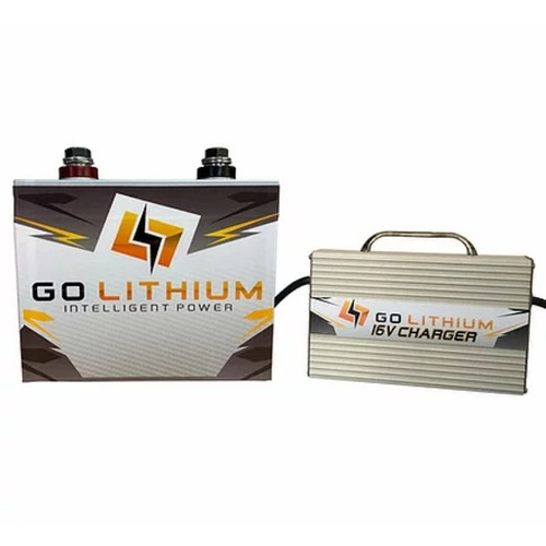 GO Lithium 16 Volt Lithium Racing Battery & Charger Package (GOLPKG1)