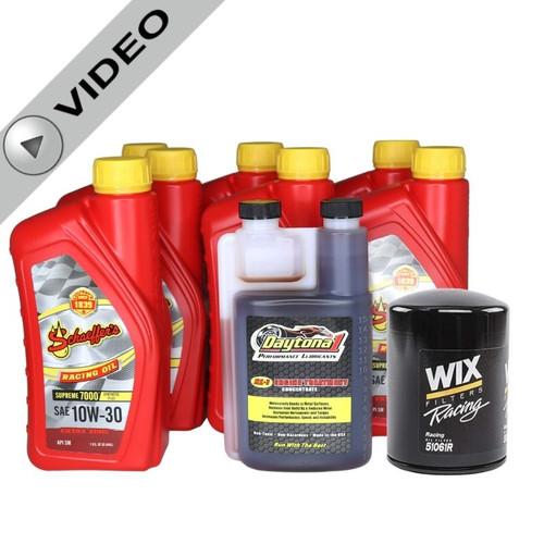 Schaeffer 709 Oil Change Kit with Engine Treatment
