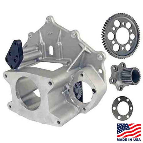Winters/Maverick 10-Spline Bellhousing Assembly with HTD Flywheel (62843-8251-63844-10H)