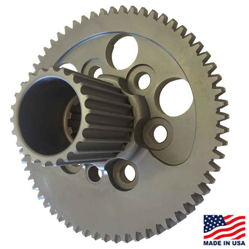 Winters/Maverick 10-Spline Flywheel, Externally Balanced, with HTD Drive (63844-10H)