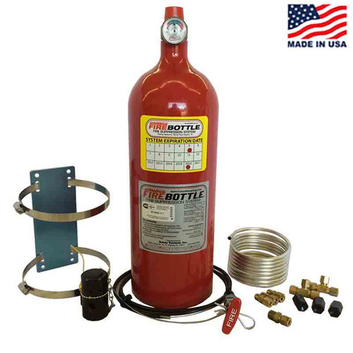 Fire Bottle RC-1000 Fire Suppression - Manual 10# System (RC-1000)