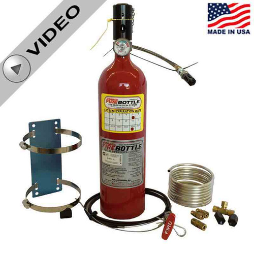 Fire Bottle AMRC-500 Automatic or Manual Fire Suppression System - 5# (AMRC-500)