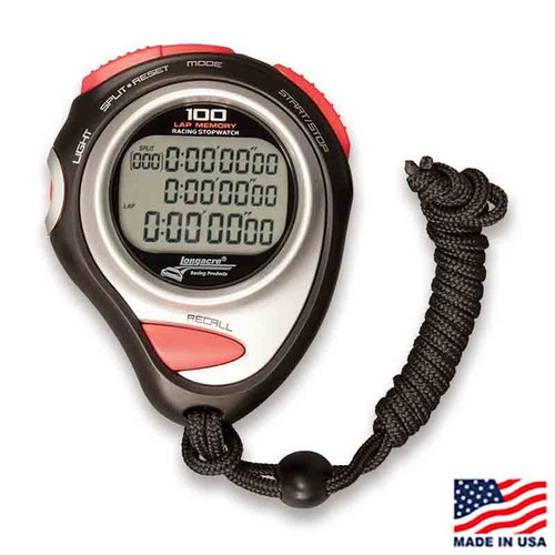 Longacre Memory Stopwatch with Case (22164)