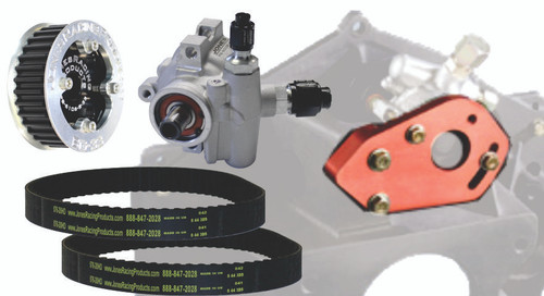 Jones Racing Products Bellhousing Mounted Power Steering Pump