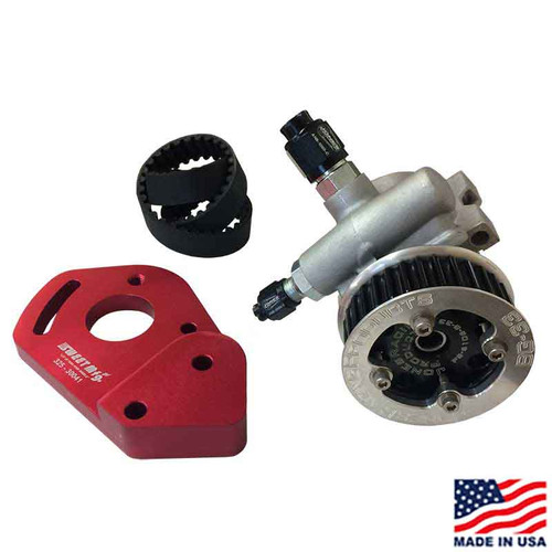 Bell Housing Mounted Power Steering Pump & Drive Kit (JRP-2004-PS)