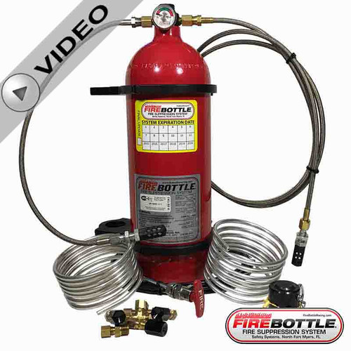Fire Bottle AMRC-1002 - Lucas Oil System (AMRC-1002)