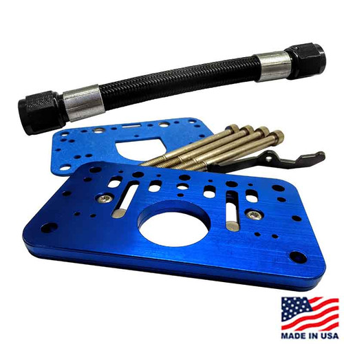 Willy's Rollover Plate Kit - 4 Barrel Carb ((2)WCD4000/(1)WCD4001)