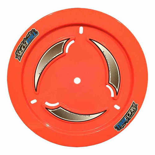 Truform Orange Vented Wheel Cover
