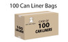 Trash Can Liners – 55 Gallons – Case of 100 Item #: BW-055