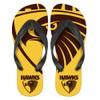 Hawthorn Mens Logo Thongs