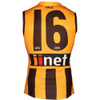 Hawthorn Heat Press Player Brown Number - Home, Legends and Indigenous