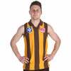Hawthorn Football Club 100% Merino Wool Originals Guernsey - 1989 Short Sleeve Jumper