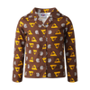 Hawthorn Football Club Youth Flannelette PJ Set