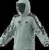 Hawthorn Football Club adidas x Hawks Fleece Cut 3-Stripes Hoodie