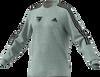Hawthorn Football Club adidas x Hawks Fleece Cut 3-Stripes Sweatshirt