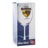Hawthorn Football Club Wine Glass