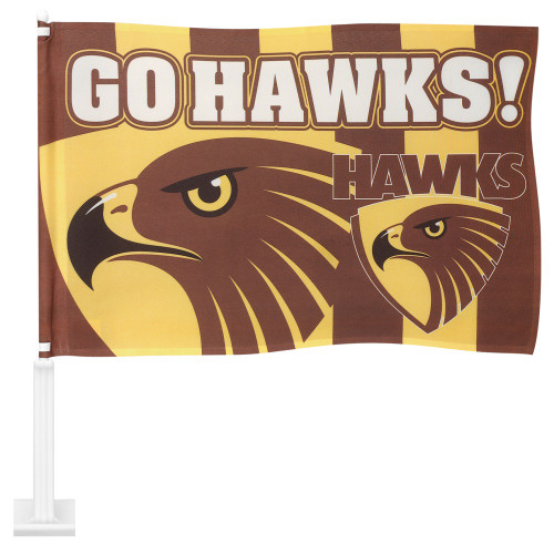 Hawthorn Medium Car Flag