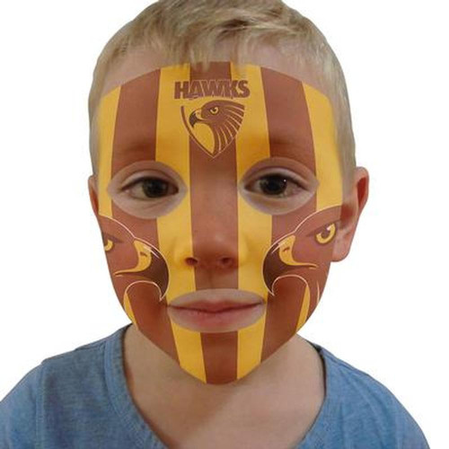 Hawthorn My Team Face - Pack of 3