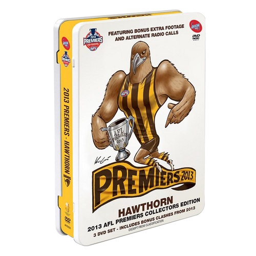 Hawthorn DVD - 2013 Collectors Tin Pack