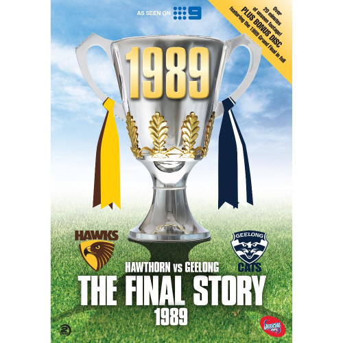 Hawthorn The Final Story DVD - 1989 Grand Final