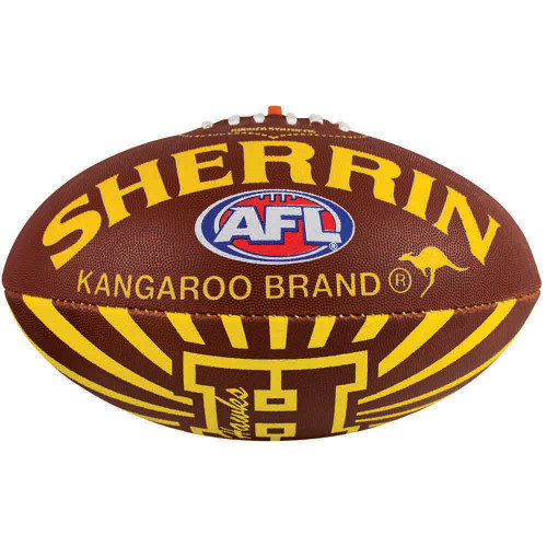 Hawthorn Alpha Sherrin Synthetic Football - Size 3