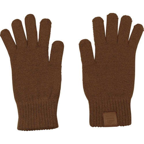 Hawthorn Football Club 100% Merino Wool Gloves - Brown