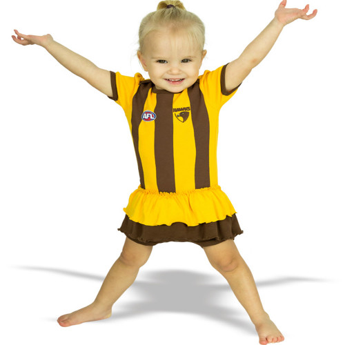 Hawthorn Girls Footysuit
