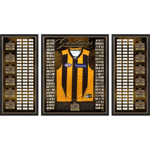 Hawthorn Greatness - Framed Hawthorn Premiership Glory