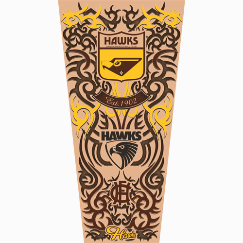 Hawthorn Chad Wingard Tattoo Sleeve - Youth