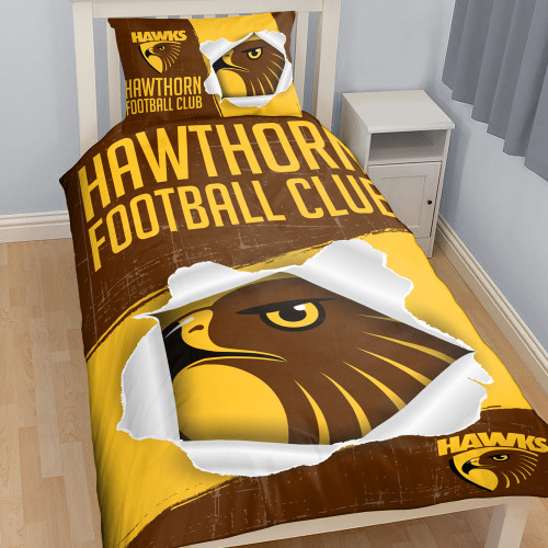 Hawthorn Doona Cover - Single