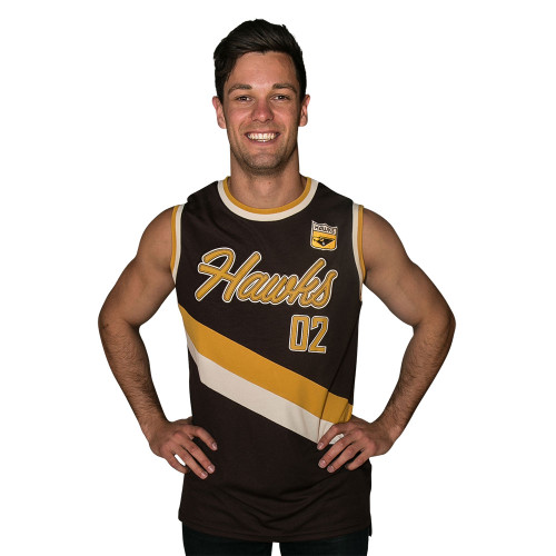 Hawthorn 1st XVIII Mens Throwback Singlet