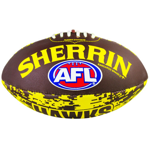 Hawthorn Digital Sherrin Synthetic Football - Size 3