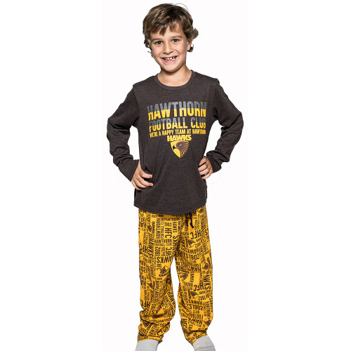 Hawthorn FC Youth Long Sleeve PJs