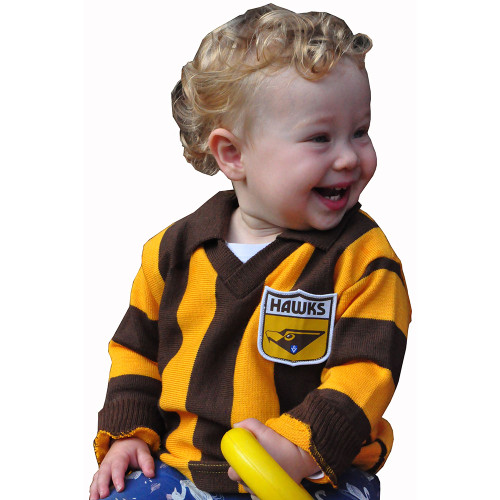 Hawthorn Football Club My 1st Woollen Hawthorn Guernsey - Infant