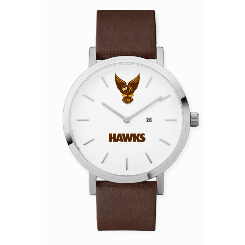 Hawthorn 1902 Leather Watch - Dark Tan