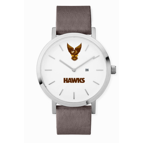 Hawthorn 1902 Leather Watch -  Charcoal