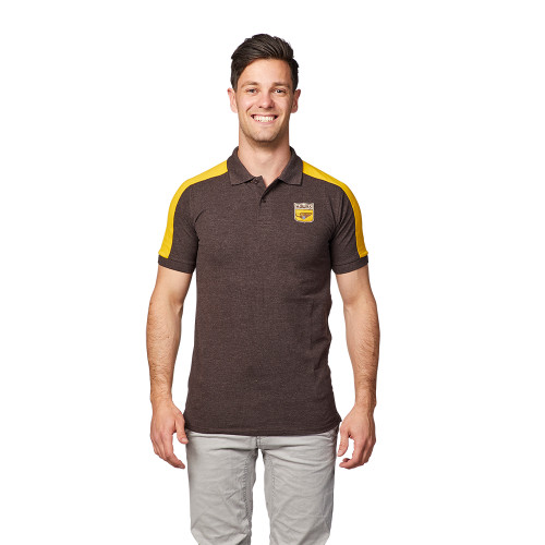 Hawthorn Mens Crest Polo - Winter 2019