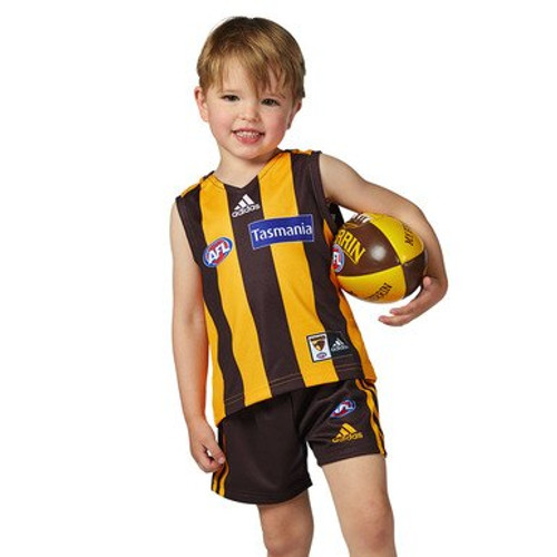 Hawthorn FC adidas toddler mini kit