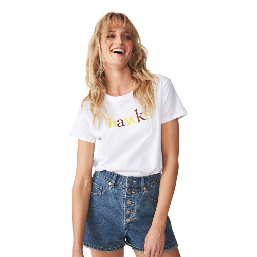 Hawthorn Women's Text Tee made by COTTON:ON