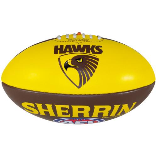 Hawthorn Autograph PVC Football - Size 3