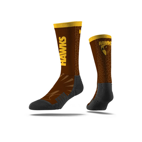 Hawthorn Strideline Club Wordmark Sock