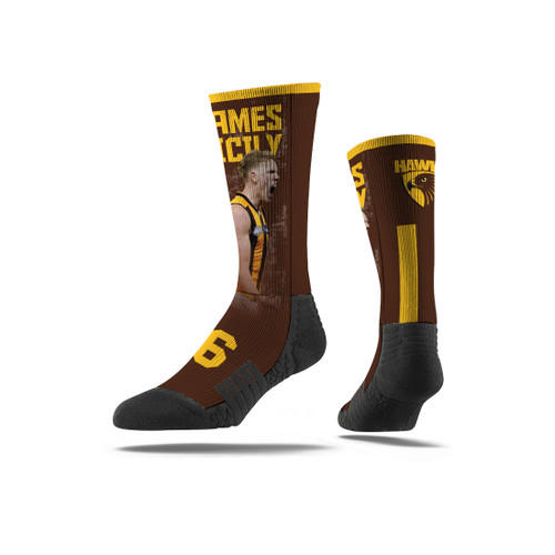 Hawthorn Strideline James Sicily Premium Player Sock