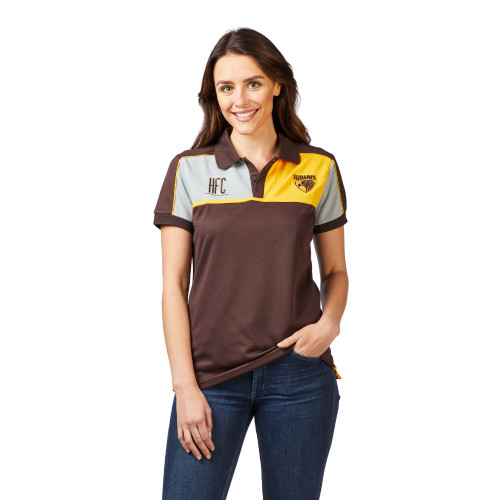 Hawthorn Football Club Womens Premium Polo
