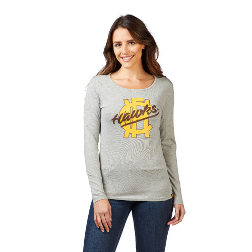 Hawthorn Womens Long Sleeve Heritage Tee - Winter